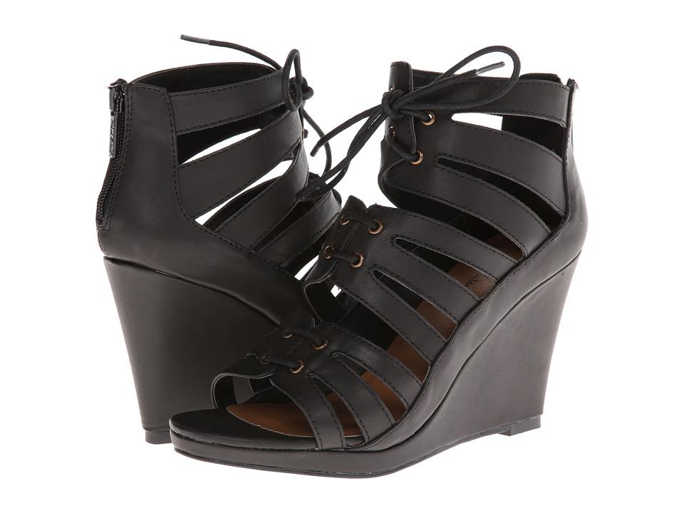 Michael Antonio - Garabi (Black) Women's Wedge Shoes