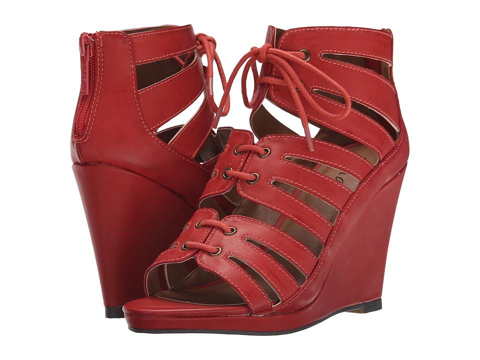 Michael Antonio - Garabi (Coral) Women's Wedge Shoes