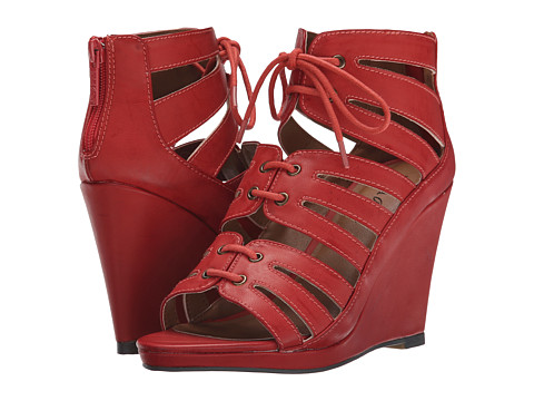 Michael Antonio - Garabi (Coral) Women's Wedge Shoes