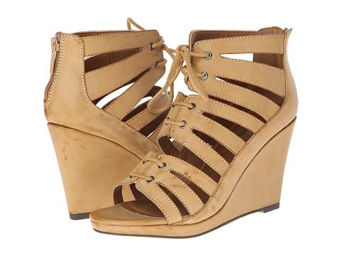 Michael Antonio - Garabi (Natural) Women's Wedge Shoes
