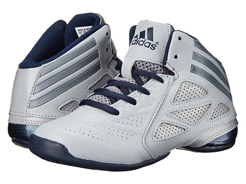 adidas Kids - NXT LVL SPD 2 K (Light Granite/Collegiate Navy/Light Granite) Boys Shoes