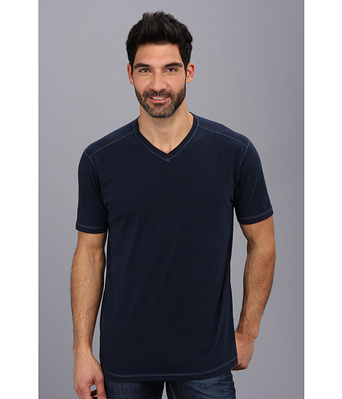 Agave Denim - S/S Streaky Jersey (Mood Indigo) Men's T Shirt