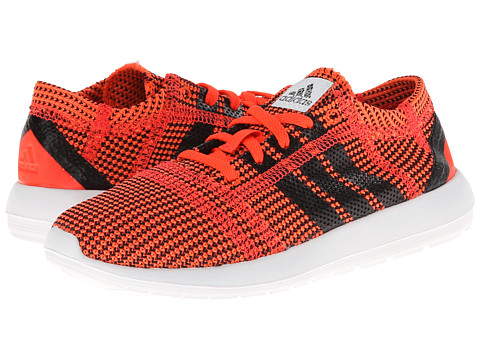 adidas Kids - Element Refine Tricot C (Little Kid) (Infrared/Black 1/Running White FTW) Boys Shoes