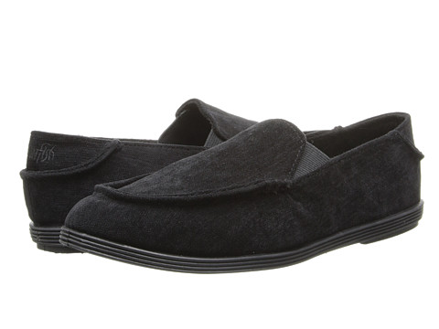 Blowfish - Glider (Black Superfly Cord Fabric) Women's Slip on Shoes