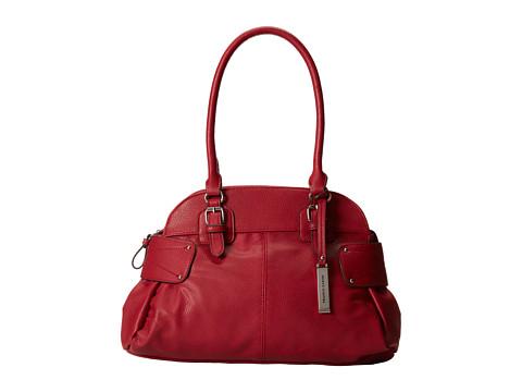 Franco Sarto Belinda Satchel (Red) Satchel Handbags
