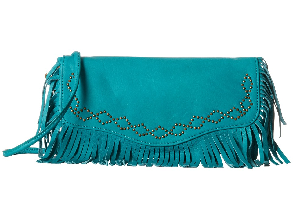 Lucky Brand - Loredo Clutch (Turquoise) Clutch Handbags