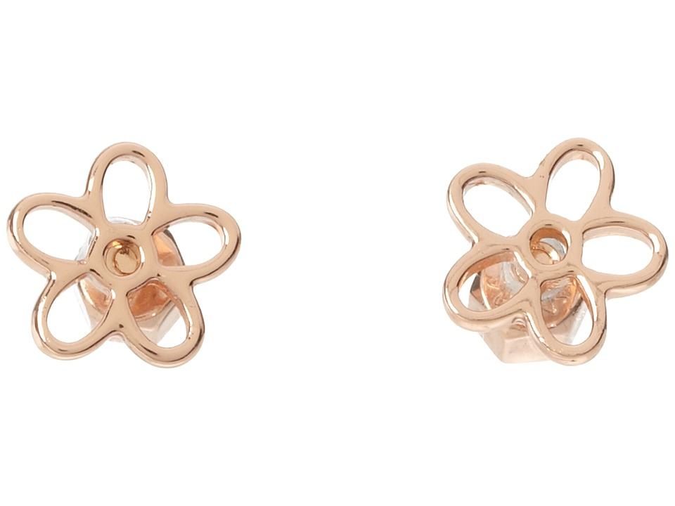 Marc by Marc Jacobs - Cut Out Daisy Studs (Rose Gold) Earring