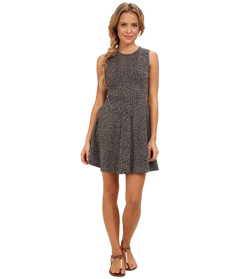 Vans - Stewart Dress (Gunmetal Cheetah) Women's Dress