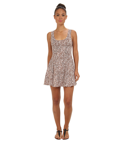 Vans - Papercuts Dress (Pale Lilac) Women's Dress