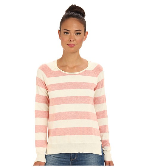 Vans - National Sweater (Cr me/Orange) Women's Sweater