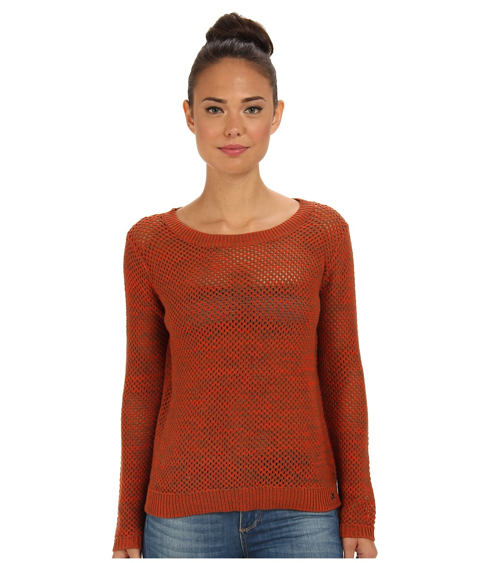 Vans - Maynard Sweater (Orange/Mocha Bisque) Women's Sweater