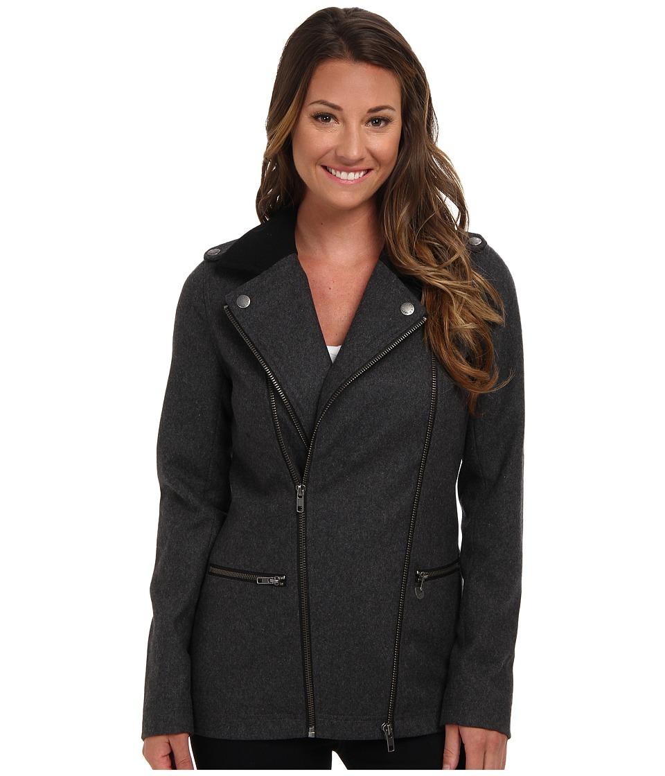 Vans - Pike Jacket (New Charcoal Heather) Women's Coat