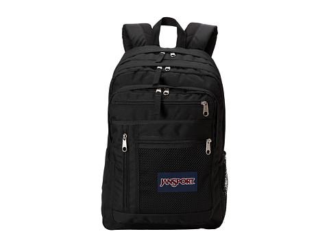 JanSport Run Around Backpack (Black) Backpack Bags