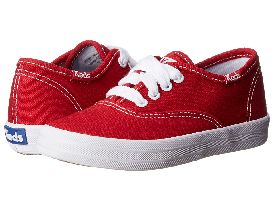 Keds Kids - Original Champion CVO (Toddler/Little Kid) (Red) Girls Shoes