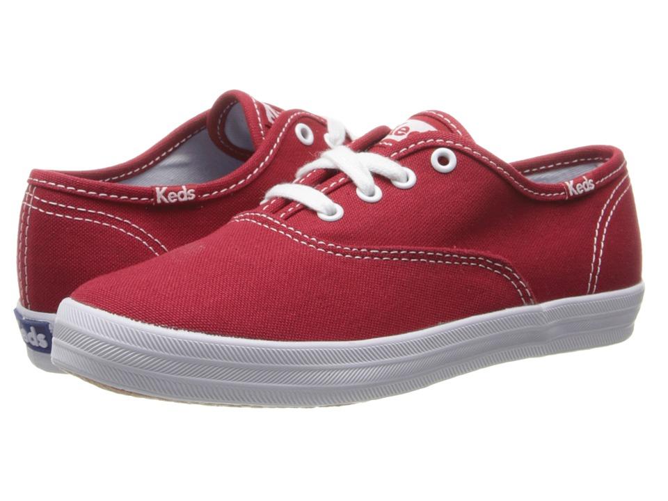 Keds Kids Original Champion CVO (Little Kid/Big Kid) (Red) Girls Shoes