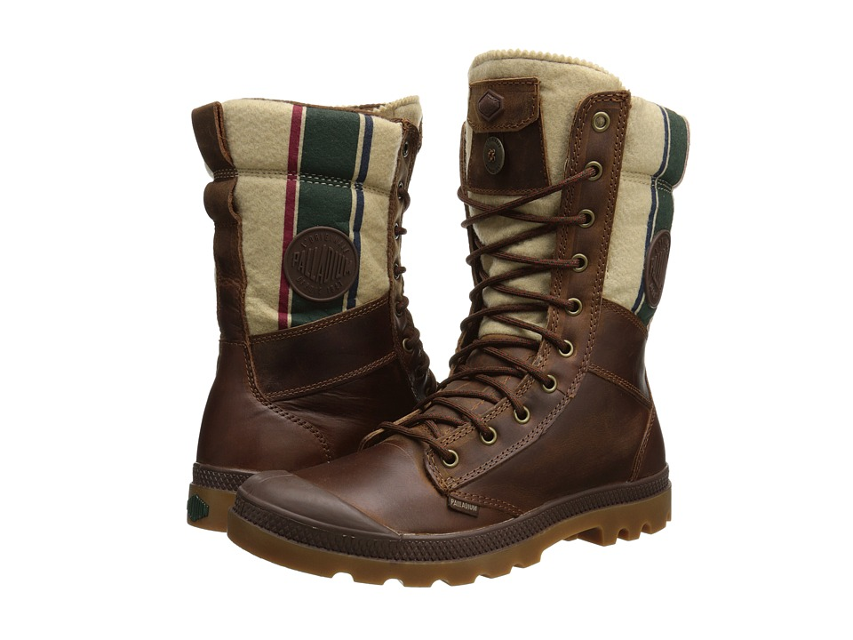 Palladium - Tactical Plus (Bridle Brown/RGB) Men's Boots