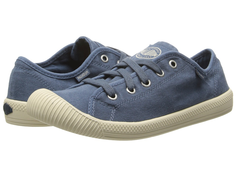 Palladium - Flex Lace (Blue/Putty) Women's Lace up casual Shoes