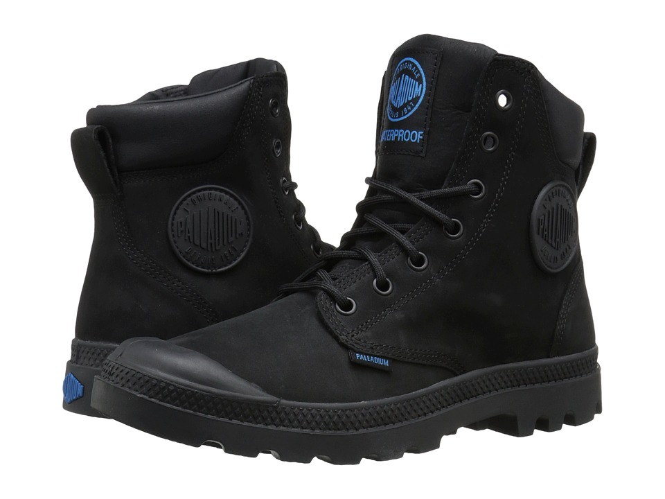 Palladium - Pampa Cuff WP Lux (Black) Boots