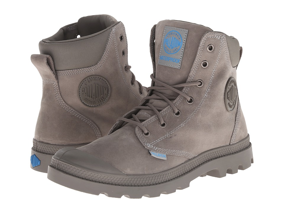 Palladium - Pampa Cuff WP Lux (Moss Gray) Boots