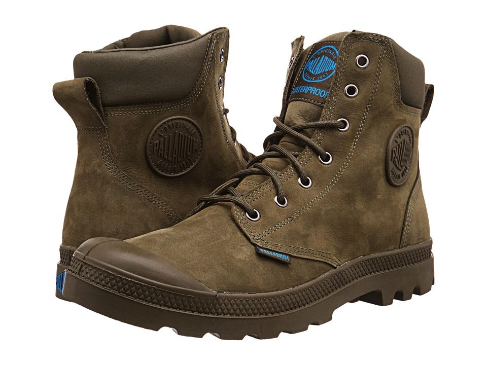 Palladium - Pampa Cuff WP Lux (Olive Drab) Boots