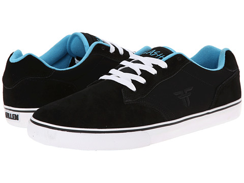 Fallen - Slash (Black/Cosmic Blue) Men's Skate Shoes