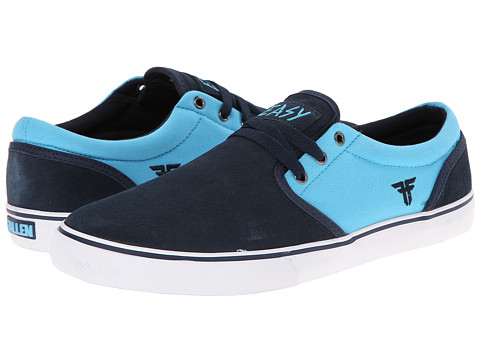 Fallen - The Easy (Midnight Blue/Cosmic Blue) Men's Skate Shoes