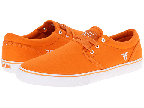 Fallen - The Easy (Bright Orange/White) Men's Skate Shoes