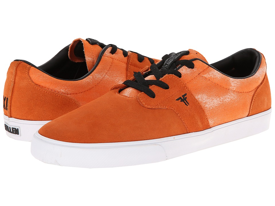 Fallen - Chief XI (Burnt Orange/Acid) Men's Skate Shoes