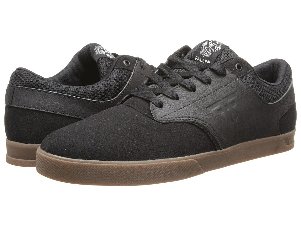 Fallen - The Vibe (Black/Gum) Men's Skate Shoes