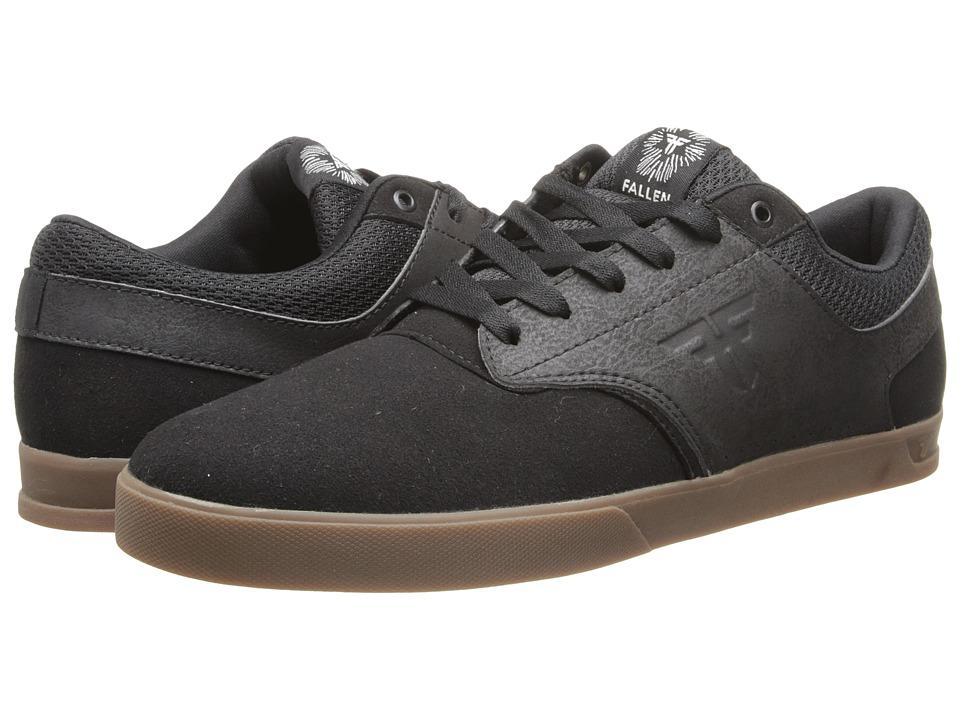 Fallen - The Vibe (Black/Gum) Men's Skate Shoes