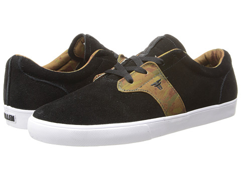 Fallen - Chief XI (Black/DIY Camo) Men's Skate Shoes
