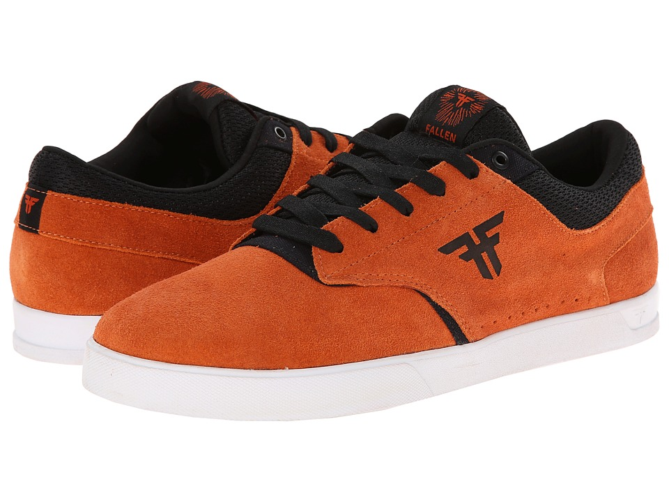 Fallen - The Vibe (Burnt Orange/Black) Men's Skate Shoes