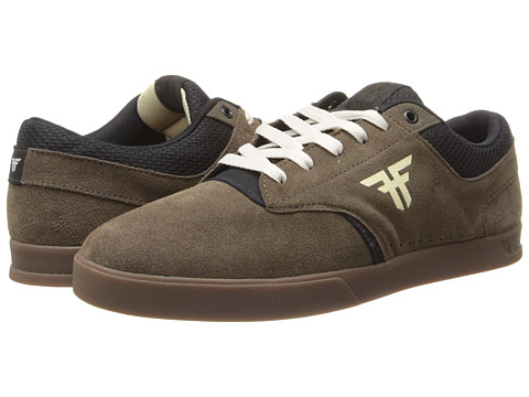Fallen - The Vibe (Afgan Brown/Gum) Men's Skate Shoes