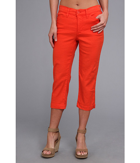 NYDJ - Tatum Crop Linen-Blend (Monarch) Women's Casual Pants