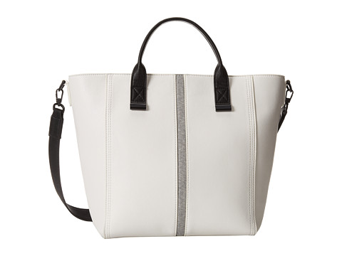 French Connection - Dream Boat Tote (White/Black) Tote Handbags