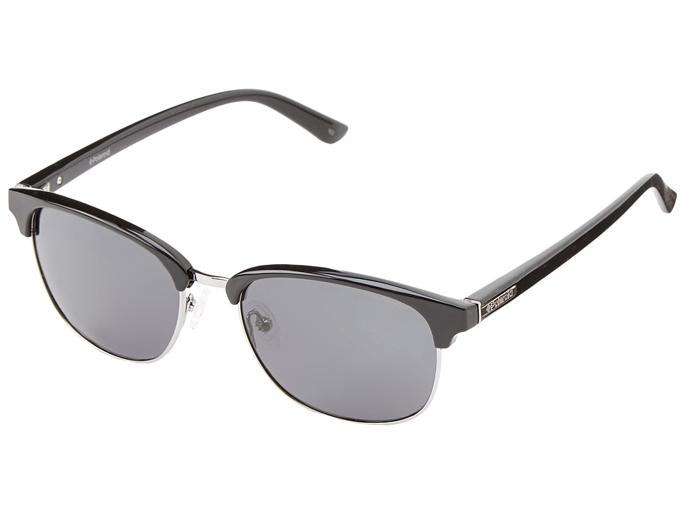 Polaroid Eyewear - F4412SP/Polarized (Black Gunmetal/Gray Polarized) Fashion Sunglasses