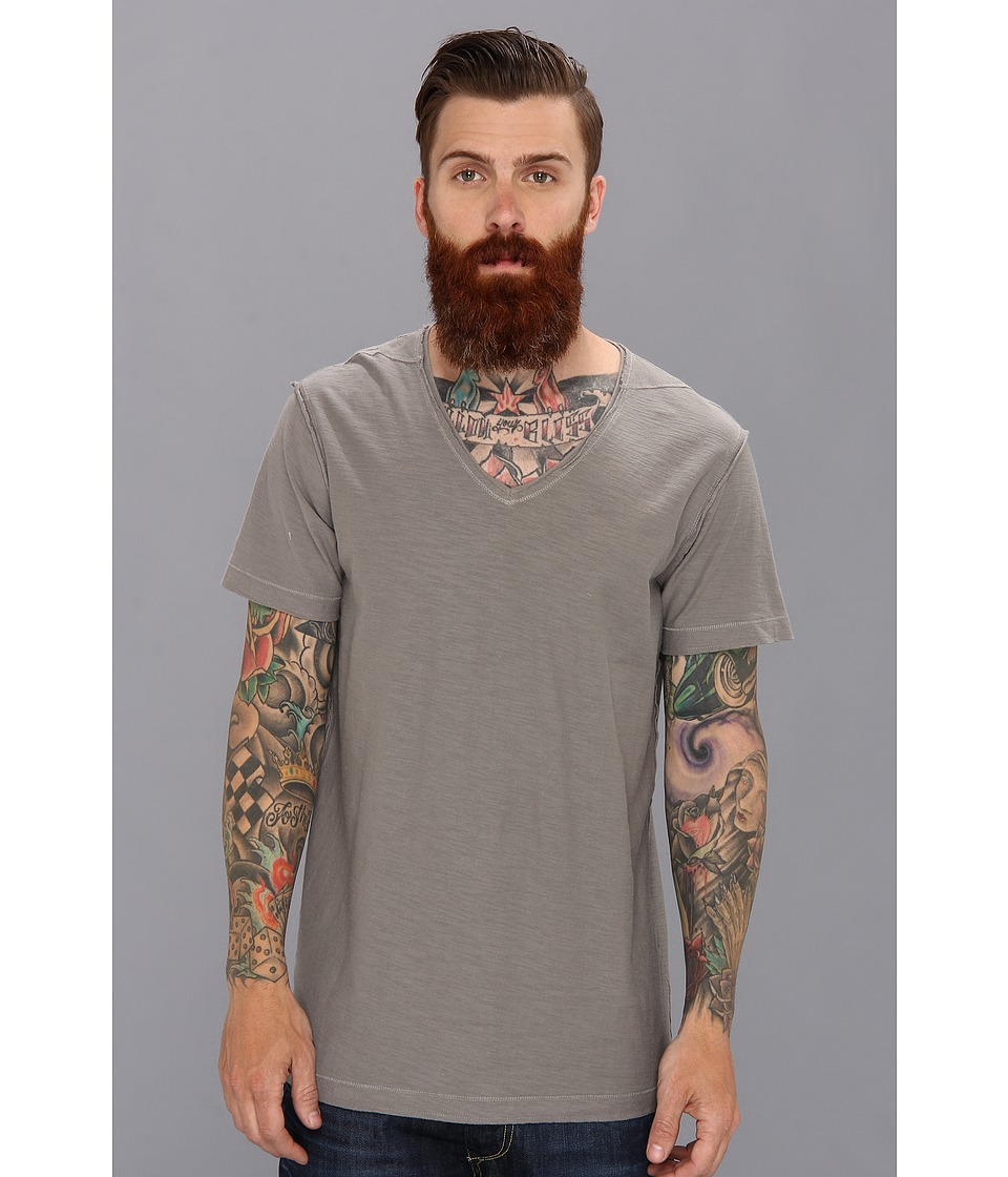 Diesel - T-Tossik Tee (Dark/Grey) Men's Short Sleeve Pullover