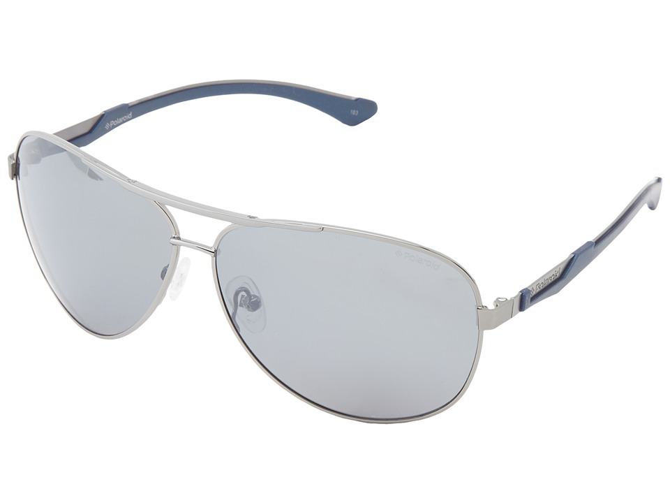 Polaroid Eyewear - X4411S (Gunmetal/Mirror Silver) Fashion Sunglasses