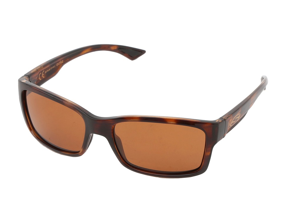 Smith Optics - Dolen (Tortoise Frame/Polarchromic Copper Techlite Glass Lenses) Sport Sunglasses