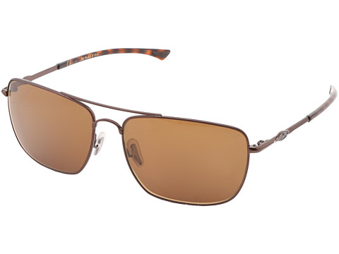 Smith Optics Nomad (Matte Brown Frame/Polar Brown Chromapop Lenses) Sport Sunglasses