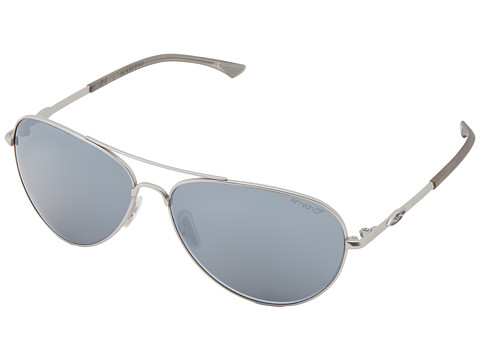 Smith Optics Audible (Matte Silver Frame/Polar Platinum Chromapop Lenses) Sport Sunglasses