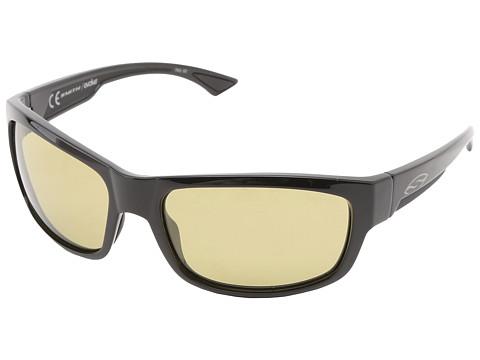 Smith Optics Dover (Black Frame/Polar Low Light Ignitor Techlite Glass Lenses) Sport Sunglasses