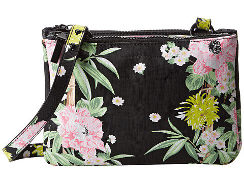 French Connection - Gypsy Mini (Black Floral Multi) Clutch Handbags