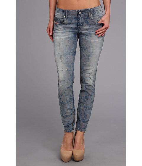 Diesel - Grupee-Zip Ankle Skinny 0606M (Indigo) Women's Jeans