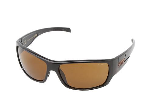 Smith Optics Frontman (Tortoise Frame/Polar Brown Carbonic TLT Lenses) Athletic Performance Sport Sunglasses