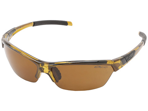 Smith Optics Approach (Whiskey Frame/Polar Brown/Ignitor/Clear Carbonic TLT Lenses) Sport Sunglasses