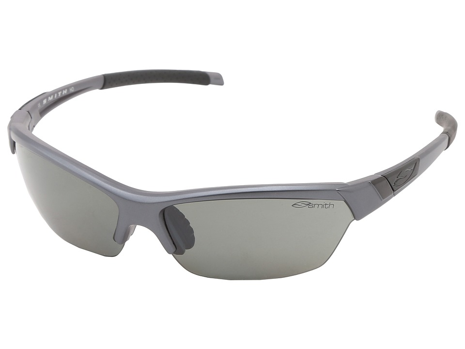 Smith Optics - Approach (Matte Graphite Frame/Polar Platinum/Ignitor/Clear Carbonic TLT L) Sport Sunglasses