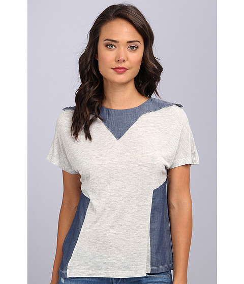 Diesel - T-Castore Top (Grey Denim) Women's T Shirt