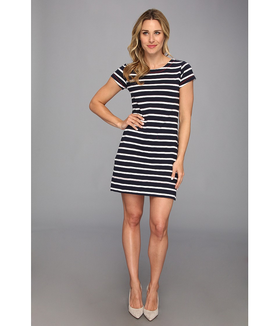 Hatley - T-Shirt Dress (Navy/White) Women's Dress