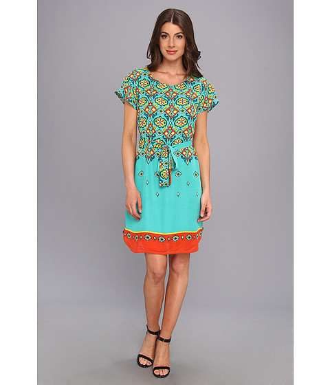 Hatley - Drop Shoulder Dress (Ikat) Women's Dress